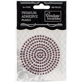 Couture Creations Self-Adhesive Pearls 3mm 206/Pkg-Perfect Plum