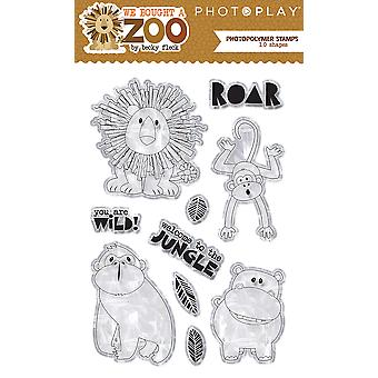 Photoplay Photopolymer Stamp-We Bought A Zoo