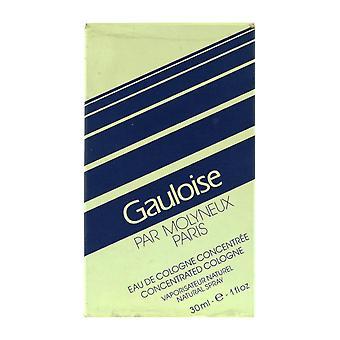 Molyneux Gauloise concentré Cologne 1,0 Oz/30 ml en boîte (Vintage)