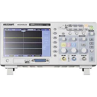 VOLTCRAFT MSO-5062B Digital 60 MHz 18-channel 1 GSa/s 512 kpts 8 Bit Digital storage (DSO), Mixed signal (MSO)