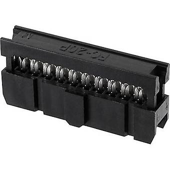 econ connect Pin connector Contact spacing: 2.54 mm Total number of pins: 20 No. of rows: 2 1 pc(s) Tray