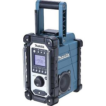 FM Workplace radio Makita DMR107 AUX, AM, FM splashproof Green, Black