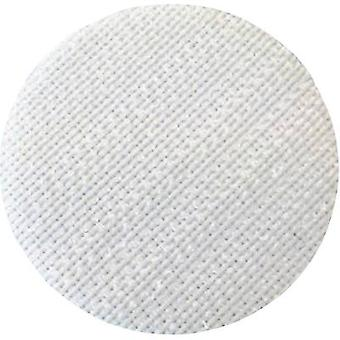Hook-and-loop stick-on dot stick-on Loop pad (Ø) 35 mm White Fastech T01035000003C1 1 pc(s)