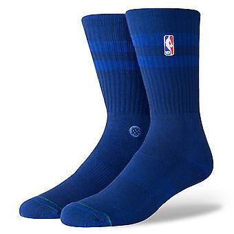 Stance NBA Hoven Crew Socks - Blue