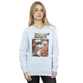 Pink Floyd Women's Distressed Comic Cover Sweatshirt