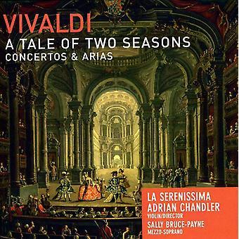 A. Vivaldi - Vivaldi: Un cuento de dos temporadas - importación USA conciertos y Arias [CD]