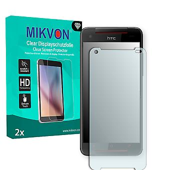 HTC Butterfly S TD-LTE Screen Protector - Mikvon Clear (Retail Package with accessories)