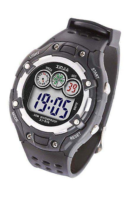 Waooh - Watch XINJIA LCD 816 Black