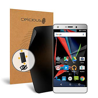 Celicious Privacy Plus 4-Way Anti-Spy Filter Screen Protector Film Compatible with Archos Diamond 2 Plus