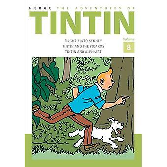 The Adventures of Tintin - Volume 8 by Herge - 9781405282826 Book