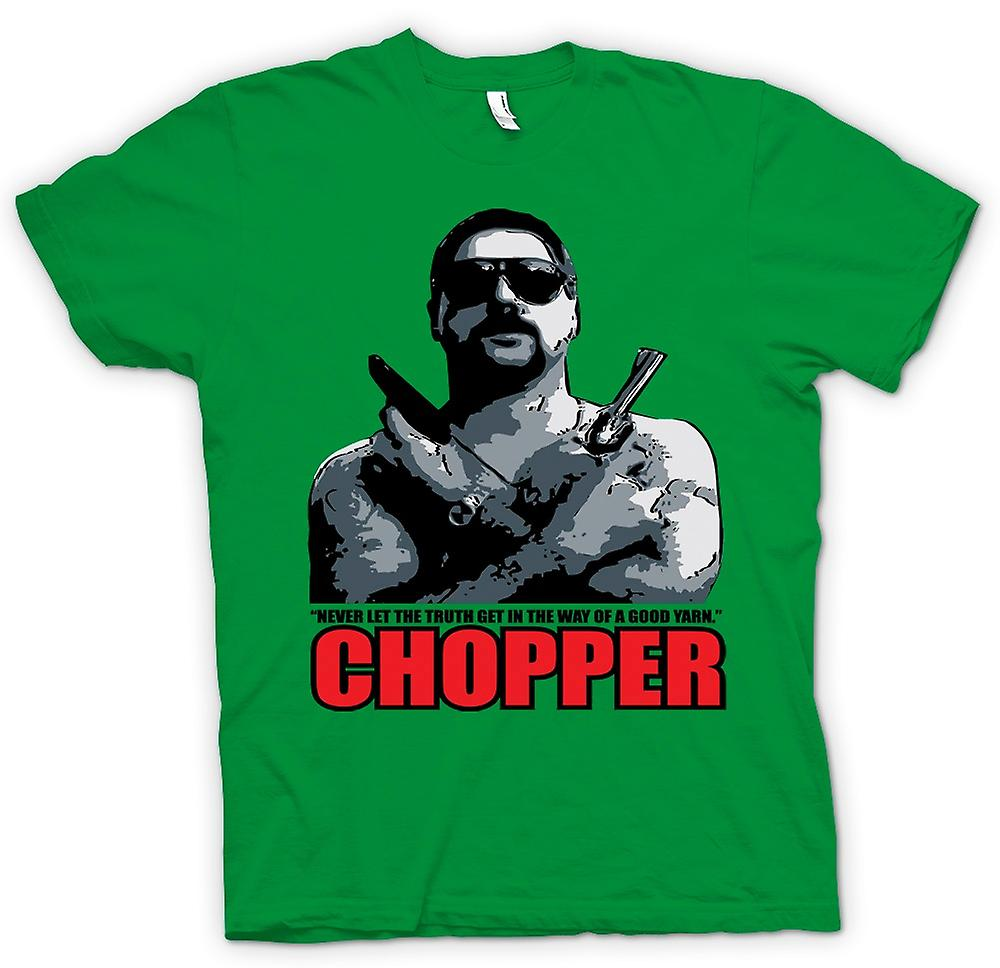 Mens t-shirt - Chopper - Reid buon filato - film - commedia