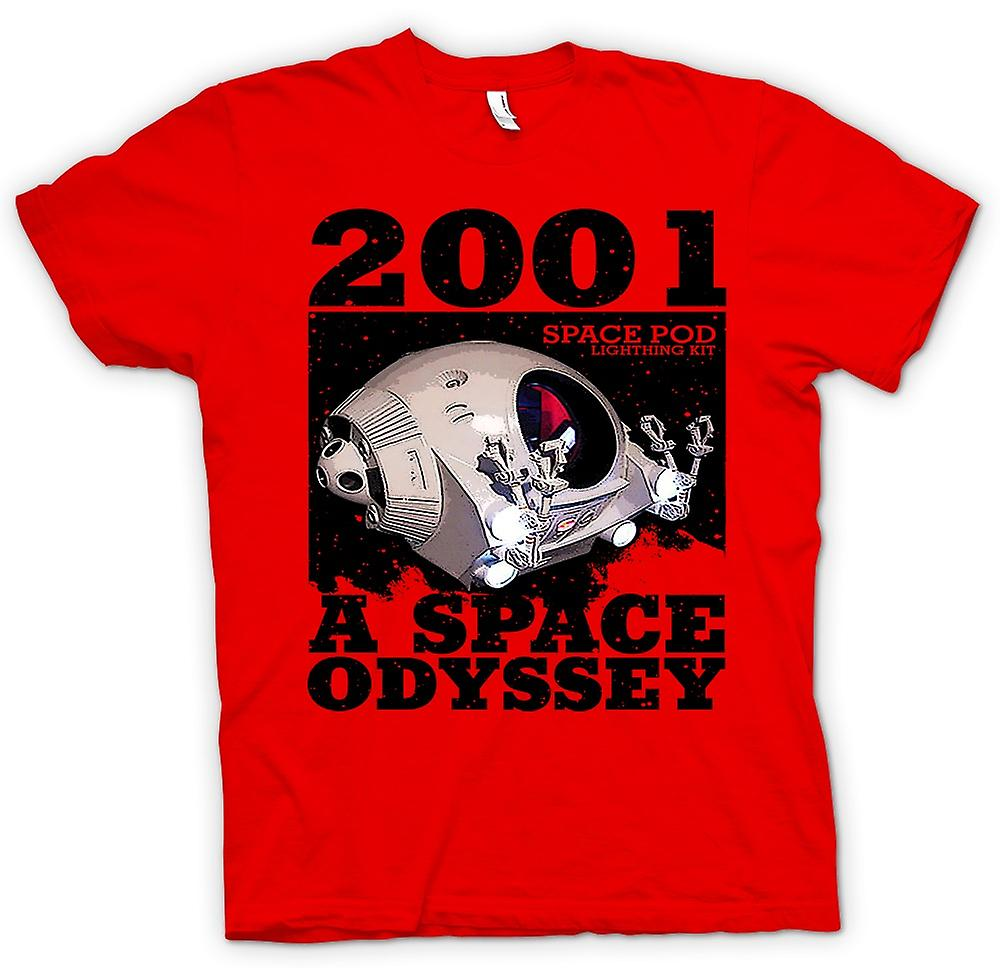 Mens T-shirt - 2001 Space Odyssey - Space Pod