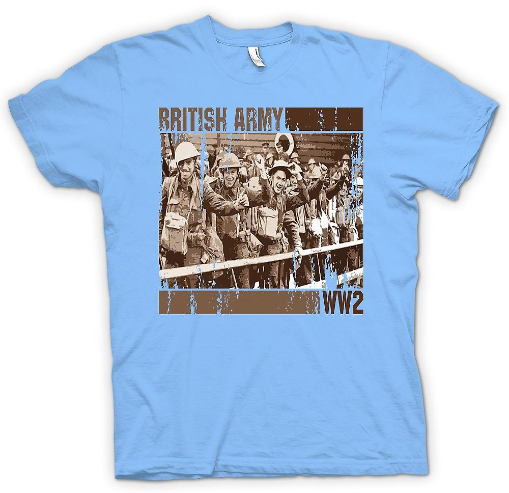 Mens T-shirt - British Army World War 2