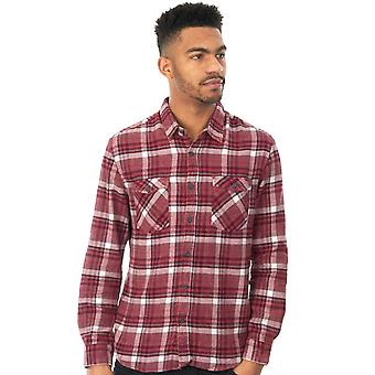 Quiksilver Wild Ginger Lost Wave Flannel Long Sleeved Shirt