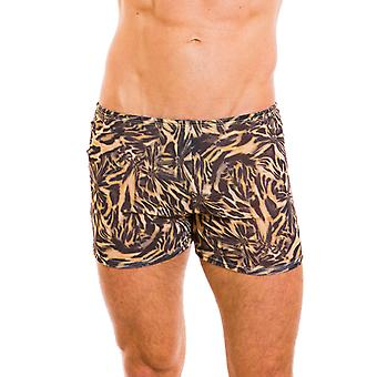 Kiniki Luanda Tan Through Swim Shorts Mens Swimwear