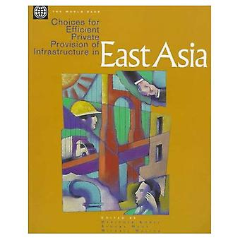 Choices for Efficient Private Production of Infrastructure in East Asia