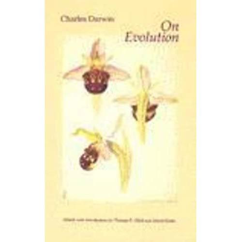On Evolution  The Development of the Theory of Natural Selection