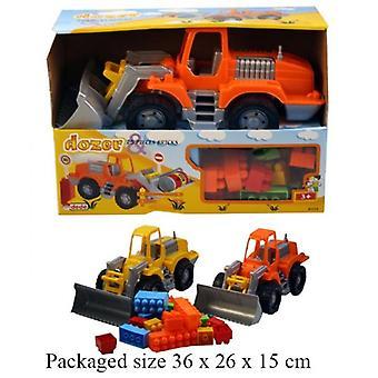 Digger ciężarówka z 25 sztuk cegły