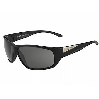 Bolle Keel Sunglasses (Modulator Polarized Grey Oleo AF Lens Shiny Black Frame)