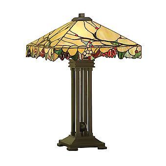Arbois Tiffany stil bordlampe - interiør 1900 63909