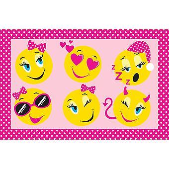 Country Club Kids Mat, Emoji