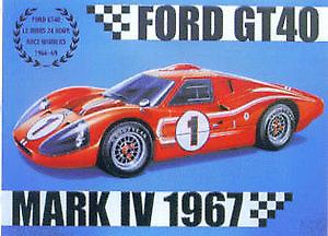 Ford GT40 Steel Sign
