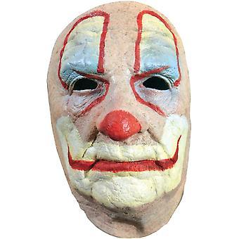 ハロウィーンのための古いピエロ フェイス マスク