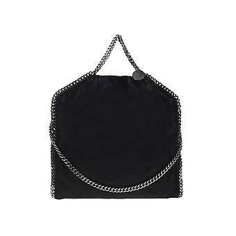 Stella Mccartney Black Faux Leather Handbag