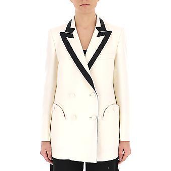 Blazé Milano White Silk Blazer