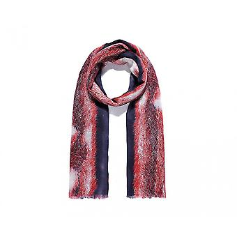 Intrigue Womens/Ladies Fur Print Scarf