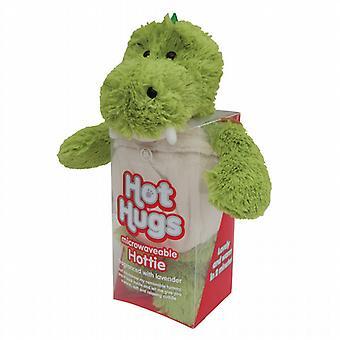 Aroma Home Hot Hugs Hottie chauffable jouet : dinosaure