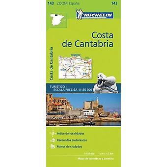 Costa de Cantabria Zoom Map 143 - 9782067218055 Book