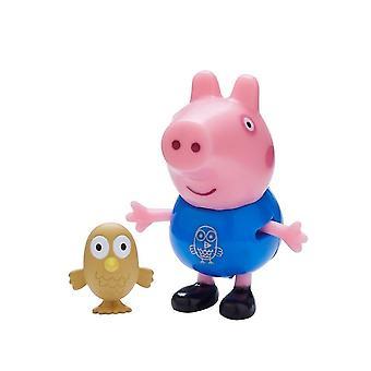 Пеппа Свинья Палс и домашних животных (Герж Свинья и сова ) Игрушка Набор