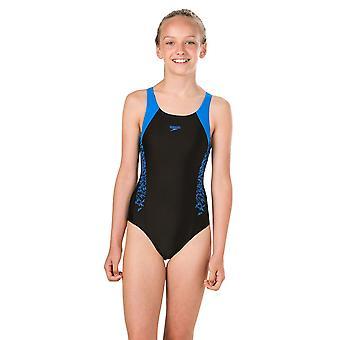 Speedo Girls Boom Swimsuit Junior Kids