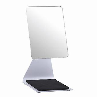 Blue Canyon Bathrooms 'Pelican' Free Standing Makeup Mirror 19cm x 14cm White