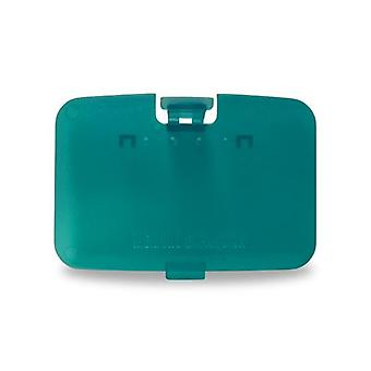 Replacement expansion cover jumper pak door for nintendo 64 n64 - ice blue