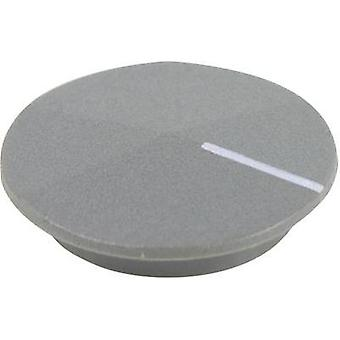 Cover + hand Grey, White Suitable for K12 rotary knob Cliff CL177809 1 pc(s)