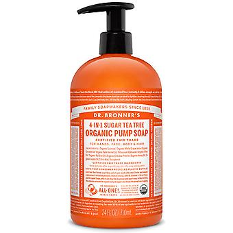 Dr Bronner's Shikakai Soap 709 Ml Master Case Count 12 Teatree