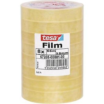 Tesa film tesa tesa® Transparent (L x W) 66 m x 19 mm