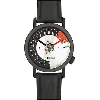 Akteo Moto Racer 42 Black (2) (Fashion accesories , Watches , Analog)