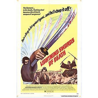 Молния мечи смерти фильм плакат печать (27 x 40)