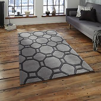 Hong Kong Hk 4338 Rugs In Grey
