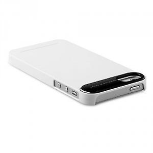 Zenus ZCI5MTWT metal edge cover case iPhone 5 5S white