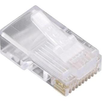 BEL Stewart Connectors 1400-1000-06 1400-1000-06 RJ48 Plug, straight Glassy