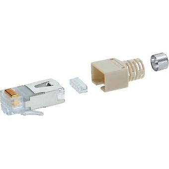 BEL Stewart Connectors CE6323 CE6323 RJ45 Plug Connector CAT 5e SS37 RJ45 Plug, straight Grey