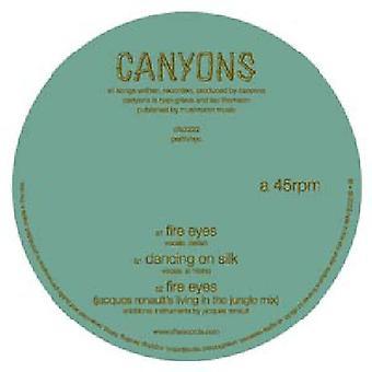 Kløfter - brand øjne [Vinyl] USA importerer
