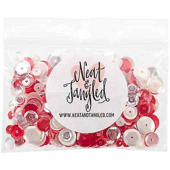 Neat & Tangled Sequin Mix-Peppermint Stick NAT228