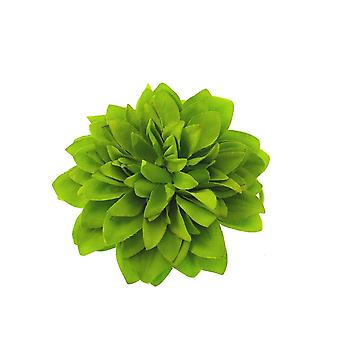 Lime Green Chrysanthemum Hair Bobble