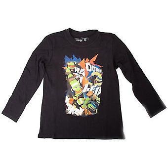 TEENAGE MUTANT NINJA TURTLES (TMNT) børn T-Shirt 176 / 182CM sort (TSY30857TNT-176)