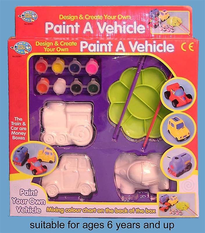 Paint A Vehicle
